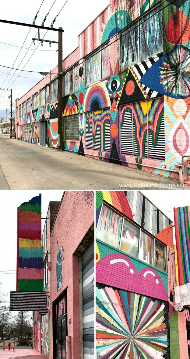 48 Hours in Oklahoma City travel guide! Take a tour of this fun, walkable city ... you won't believe all the things to do in Oklahoma City! WOMB Gallery in Automobile Alley OKC | Hello Little Home