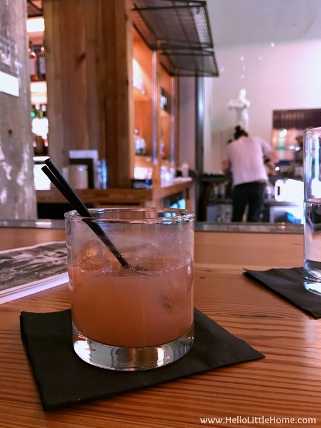 48 Hours in Oklahoma City travel guide! Take a tour of this fun, walkable city ... you won't believe all the things to do in Oklahoma City! 21C Museum Hotel Bar | Hello Little Home