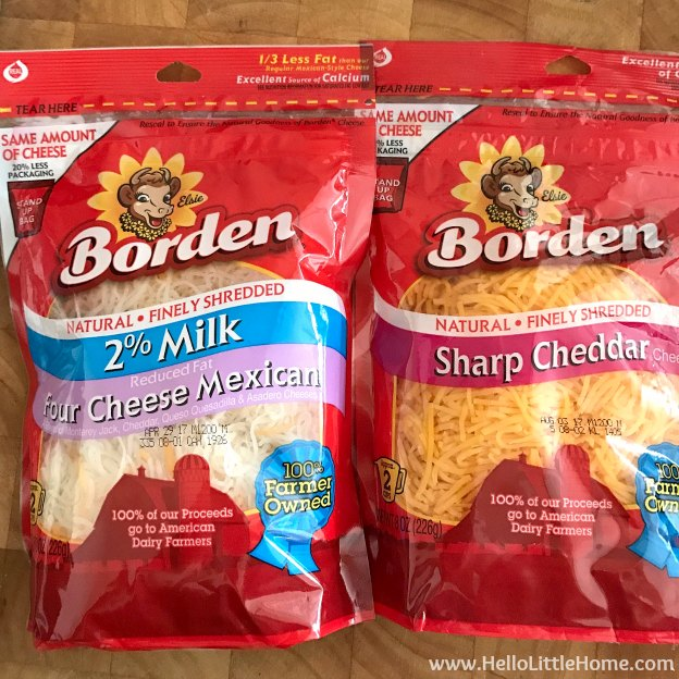 Borden® Cheese from Tom Thumb for Tex-Mex Stuffed Sweet Potatoes! | Hello Little Home