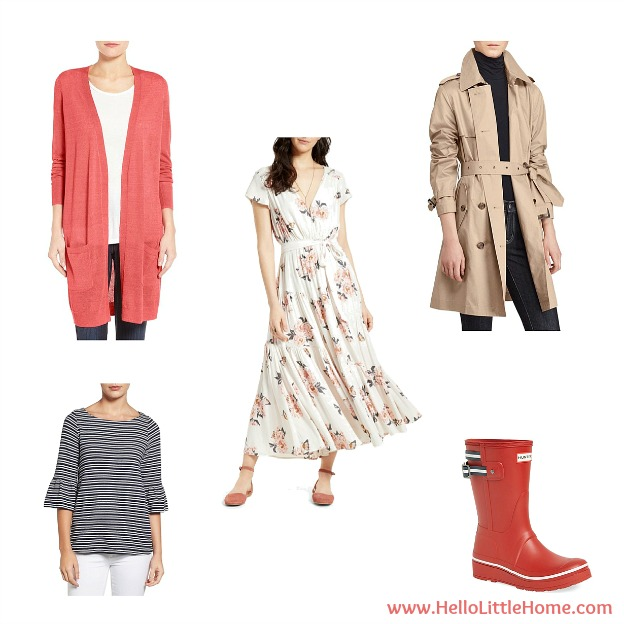 10 Things to Try This March ... update your wardrobe for spring! | Hello Little Home #HLH10Things
