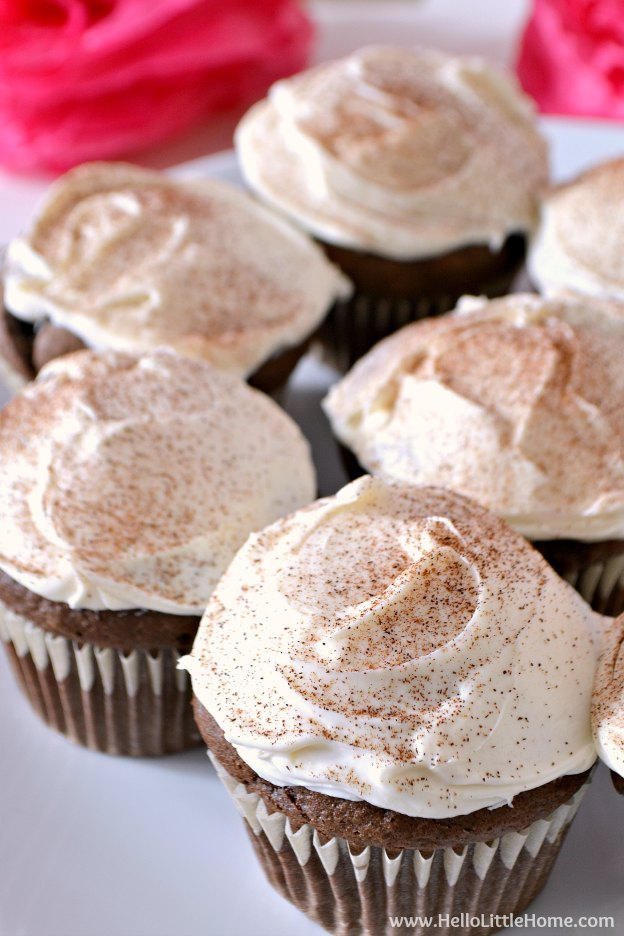 Mexican Hot Chocolate Cupcakes Box Mix
