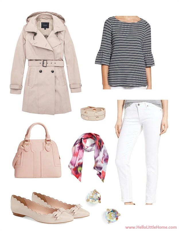 3 Easy Spring Outfit Ideas ... from casual to dressy, you are going to love these cute ideas for women!   Hello Little Home