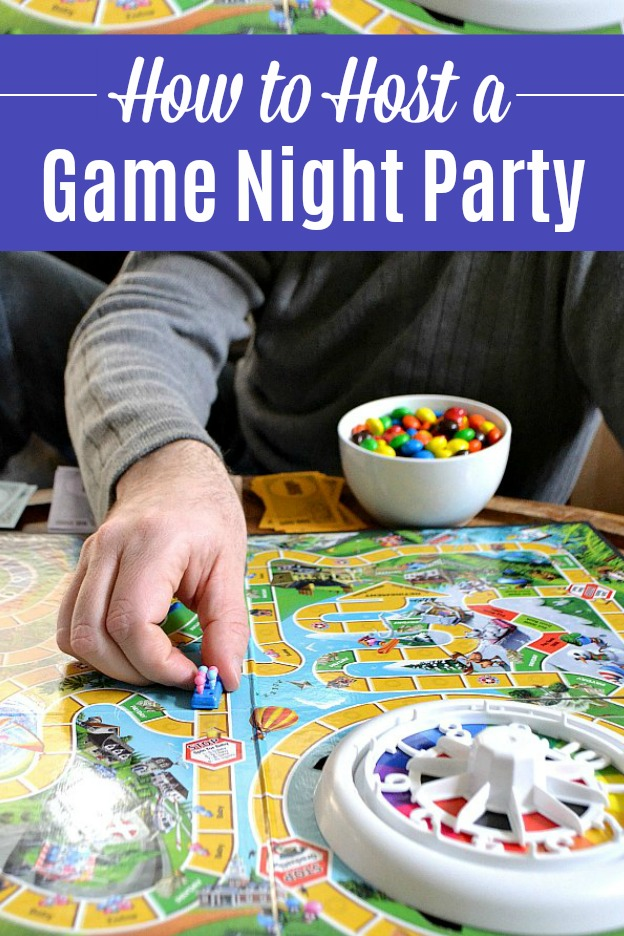 how to host a game night party hello little home
