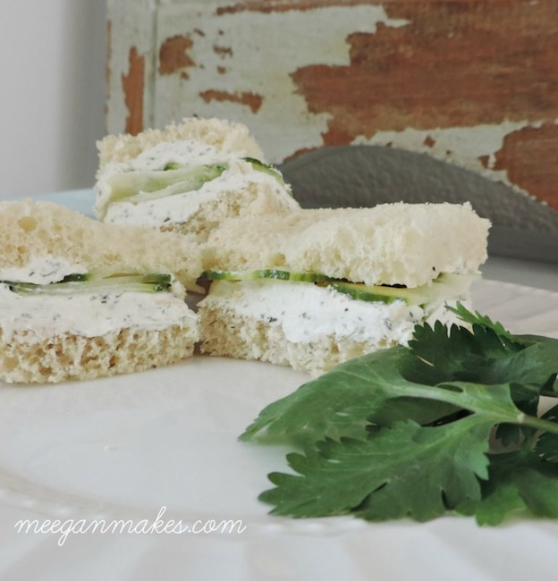 150+ Vegetarian Easter Recipes that are perfect for your holiday dinner or brunch, including these Cucumber Finger Sandwiches from Meegan Makes! Find tons of vegetarian and vegan recipe ideas - from healthy appetizers to decadent desserts - that your whole family will love! Hello Little Home