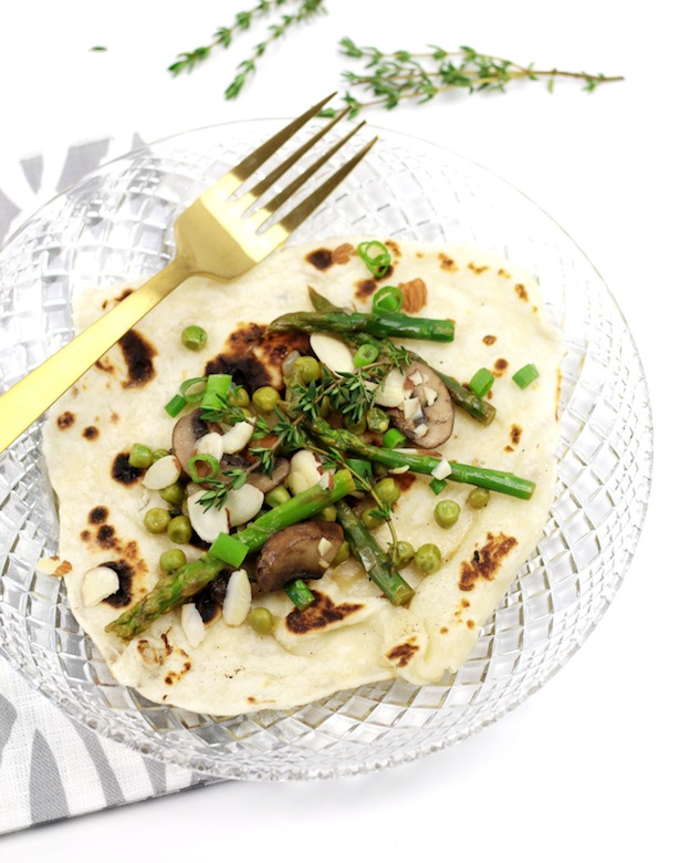 150+ Vegetarian Easter Recipes that are perfect for your holiday dinner or brunch, including these Spring Vegetable Potato Crepes from Feast + West! Find tons of vegetarian and vegan recipe ideas - from healthy appetizers to decadent desserts - that your whole family will love! Hello Little Home