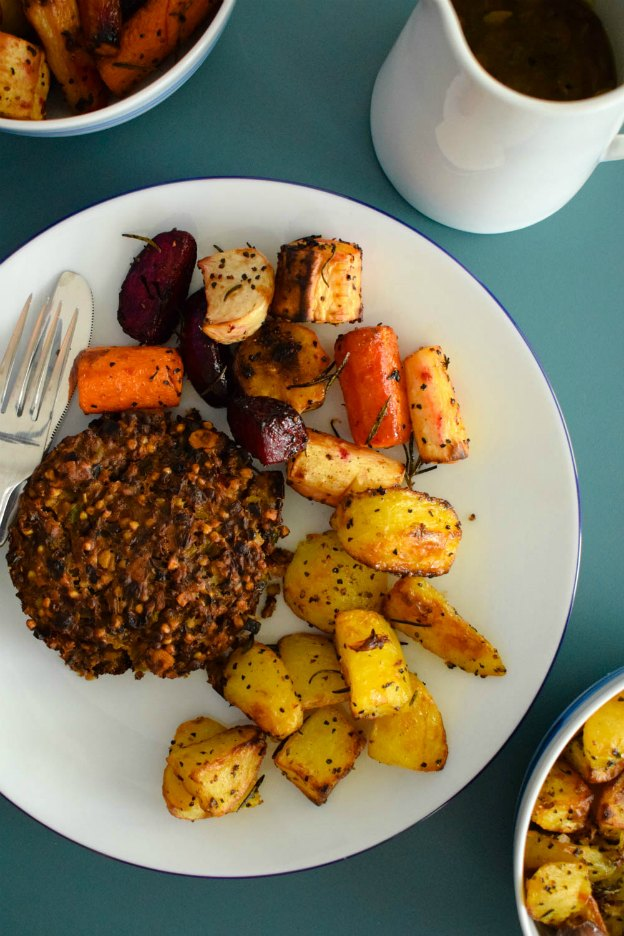 150+ Vegetarian Easter Recipes that are perfect for your holiday dinner or brunch, including this Nut Roast from Pretty Patel! Find tons of vegetarian and vegan recipe ideas - from healthy appetizers to decadent desserts - that your whole family will love! Hello Little Home