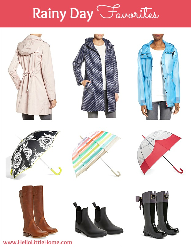 10 Things to Try This April! Rainy Day Fashion Favorites! | Hello Little Home #HLH10Things