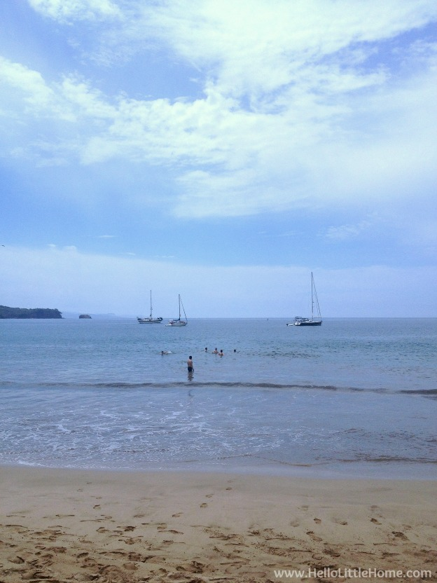 Chacala, Mexico Beach ... Escape to this quiet fishing village on the Pacific Coast of Mexico in the state of Nayarit for a laidback, stress free vacation! This travel diary is full of things to do during a Chacala, Mexico getaway! | Hello Little Home