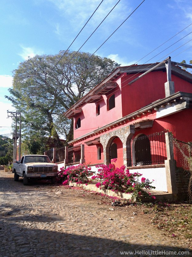Things to do in Chacala, Mexico! Escape to this quiet fishing village on the Pacific Coast of Mexico in the state of Nayarit for a laidback, stress free vacation! Exploring the colorful streets on a Chacala, Mexico getaway!   Hello Little Home
