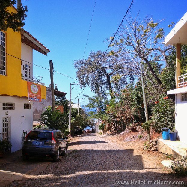 Things to do in Chacala, Mexico! Escape to this quiet fishing village on the Pacific Coast of Mexico in the state of Nayarit for a laidback, stress free vacation! Exploring the colorful streets on a Chacala, Mexico getaway! | Hello Little Home