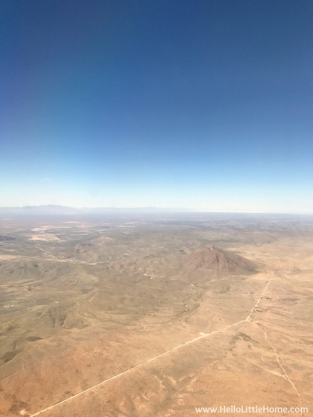 Landing in El Paso, Texas before starting an El Paso to Phoenix Road Trip! Travel from Texas to Arizona with lots of fun stops along the way, including White Sands National Monument and MLB spring training! Find out the best things to do in El Paso and Phoenix, from can't miss sights to delicious restaurants! | Hello Little Home