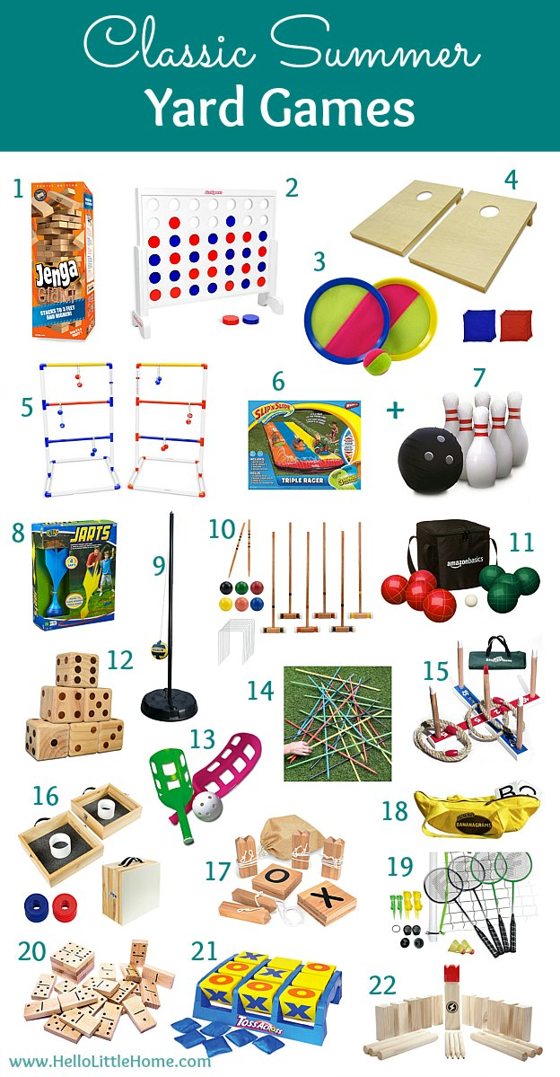 20 Diy Yards Game Classic Lawn Games To Buy Hello