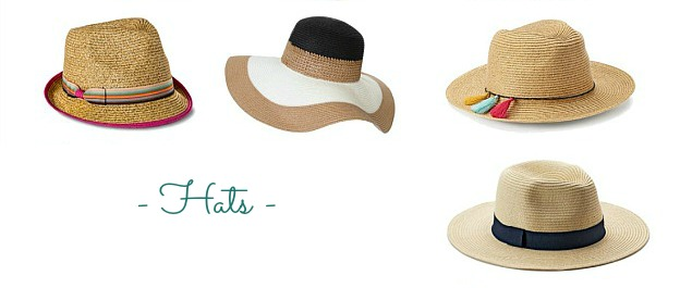 Faves Under $50: Summer Accessories ... hats! Update your summer wardrobe with the best summer accessories: beachy, boho, casual, work-friendly + more! Everything from sandals to sunglasses to kick up your summer style and inspire endless summer outfit ideas! | Hello Little Home