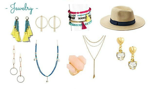 Faves Under $50: Summer Accessories ... jewelry! Update your summer wardrobe with the best summer accessories: beachy, boho, casual, work-friendly + more! Everything from sandals to sunglasses to kick up your summer style and inspire endless summer outfit ideas! | Hello Little Home