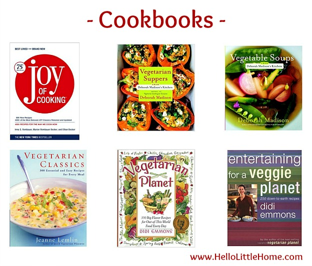 Kitchen Essentials List for Home Cooks ... cookbooks! From basics to fun gadgets, this kitchen essentials list has everything you need to start creating delicious meals! Perfect for new graduates, college students, or anyone setting up their first apartment or creating a wedding registry, this checklist has the must have kitchen tools you need to get started cooking! | Hello Little Home