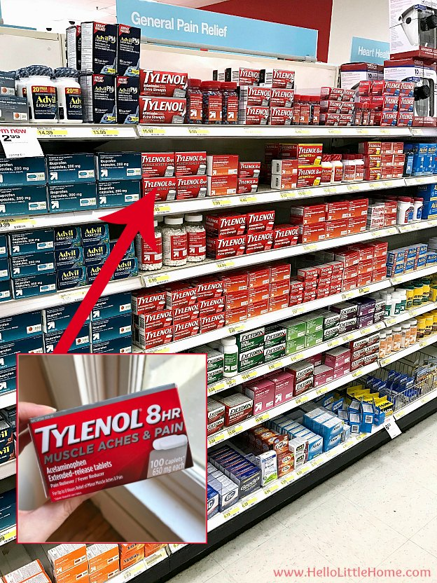 TYLENOL® 8 HR Muscle Aches & Pain at Target | Hello Little Home