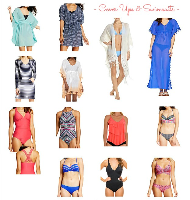 Faves Under $50: affordable Swimsuits and Cover Ups that are perfect for the beach or pool!   Hello Little Home