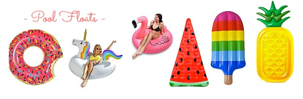 Faves Under $50: affordable Pool Floats that are perfect for the beach or pool!   Hello Little Home