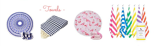 Faves Under $50: affordable Towels that are perfect for the beach or pool!   Hello Little Home