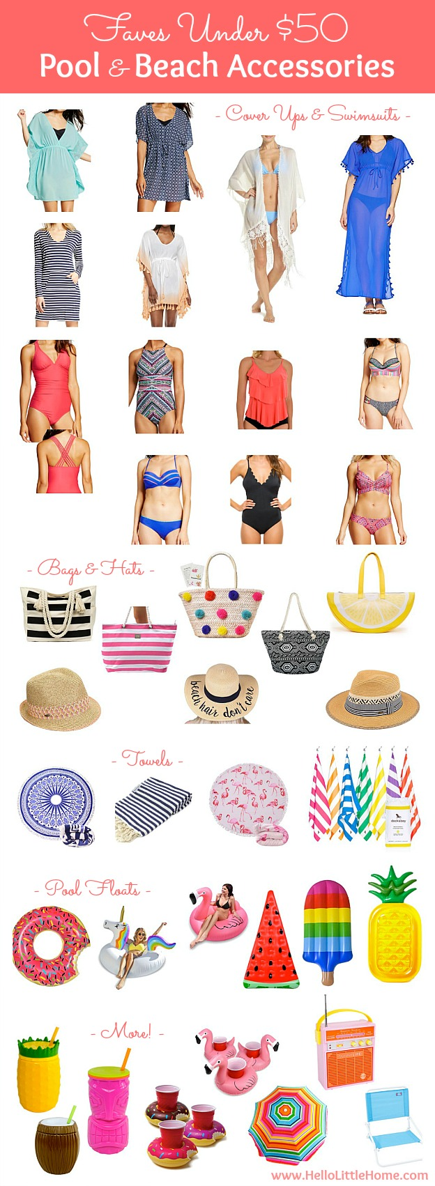 Faves Under $50: Pool and Beach Accessories