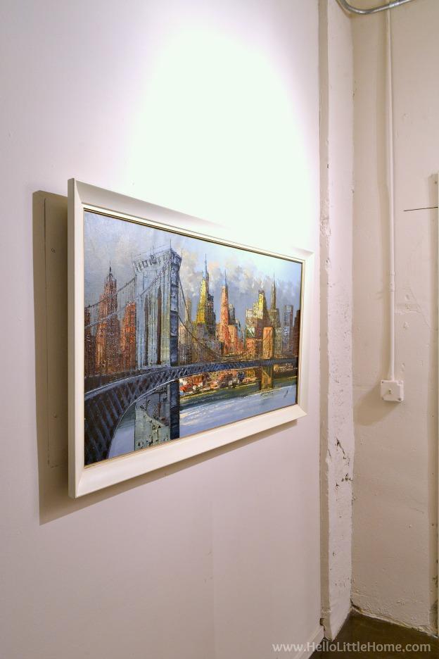 Loft apartment details - artwork. | Hello Little Home