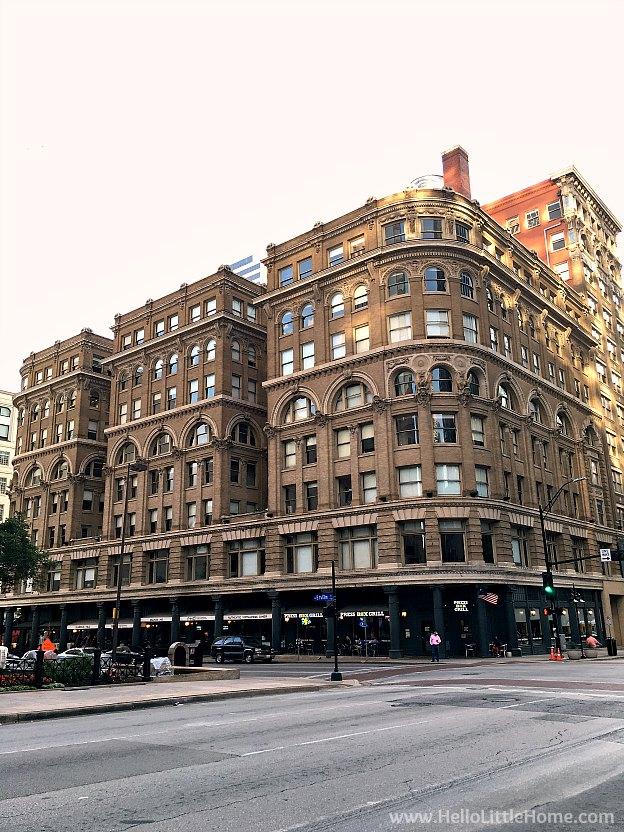 Dallas Loft Apartment Tour ... Wilson Building Exterior | Hello Little Home