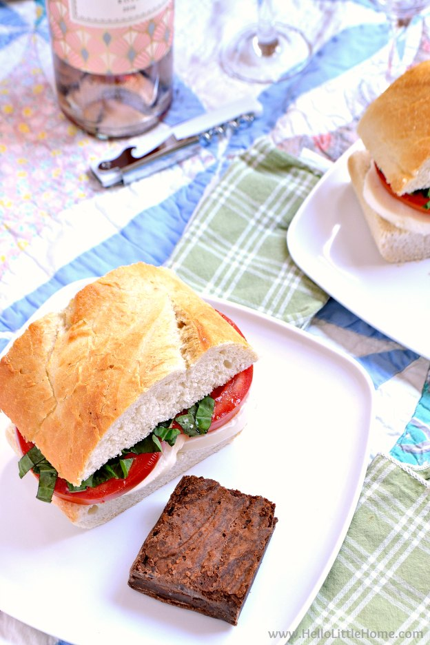 5 easy picnic ideas! Simple DIY outdoor picnic ideas for the perfect summer day at the park, beach, or even backyard. Easy picnic food ideas and recipes for kids and adults, what to pack, and more ... perfect for a fun and cheap summer picnic escape! | Hello Little Home