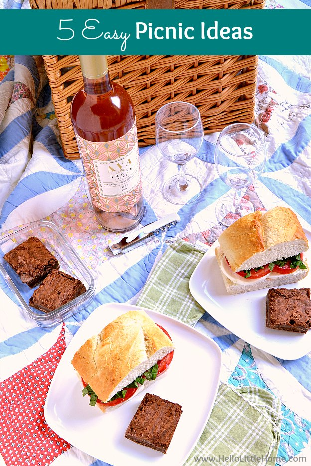 5 Easy Picnic Ideas For The Perfect Summer Day