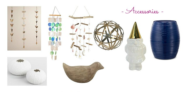 Faves Under $50: Outdoor Accessories! Decorate your terrace, patio, porch, or deck for summertime or fall ... the best outdoor decor on a budget! Lots of outdoor accessories perfect for apartments and small spaces. | Hello Little Home