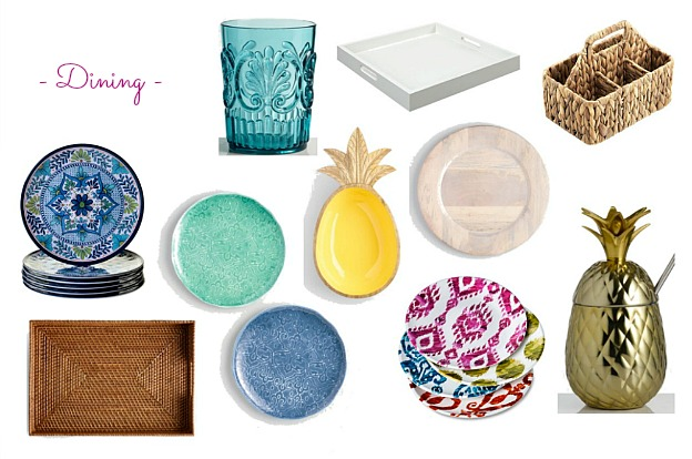 Faves Under $50: Outdoor Dining! Decorate your terrace, patio, porch, or deck for summertime or fall ... the best outdoor decor on a budget! Lots of outdoor accessories perfect for apartments and small spaces. | Hello Little Home