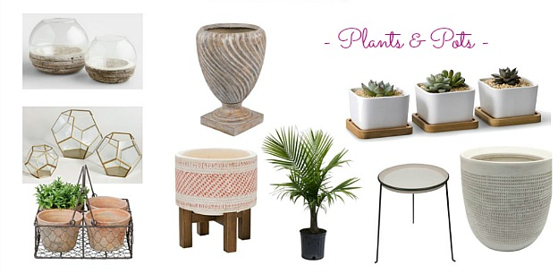 Faves Under $50: Outdoor Plants and Pots! Decorate your terrace, patio, porch, or deck for summertime or fall ... the best outdoor decor on a budget! Lots of outdoor accessories perfect for apartments and small spaces. | Hello Little Home