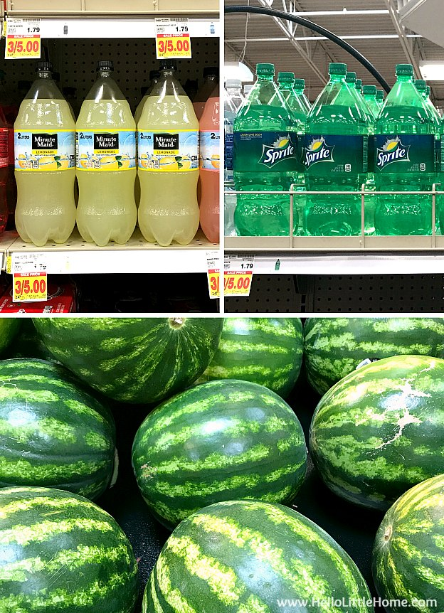 Sprite and Minute Maid at Kroger | Hello Little Home