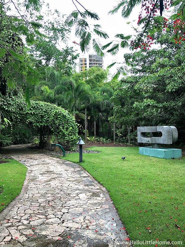 48 Hours in San Juan, Puerto Rico: Sculpture Botanical Garden at Museo de Arte de Puerto Rico | Hello LIttle Home