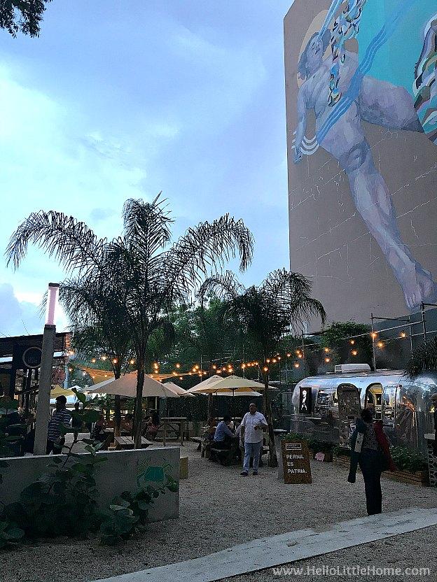 48 Hours in San Juan, Puerto Rico: Lote 23 Food Truck Court in the Santurce Neighborhood | Hello LIttle Home