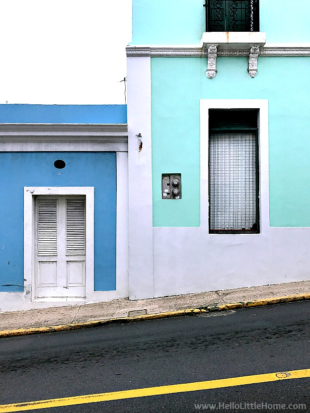 Colorful Buildings in Old San Juan | Hello Little Home