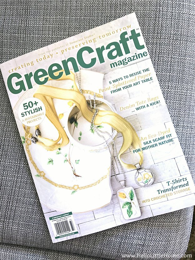 Autumn 2017 GreenCraft Magazine | Hello Little Home