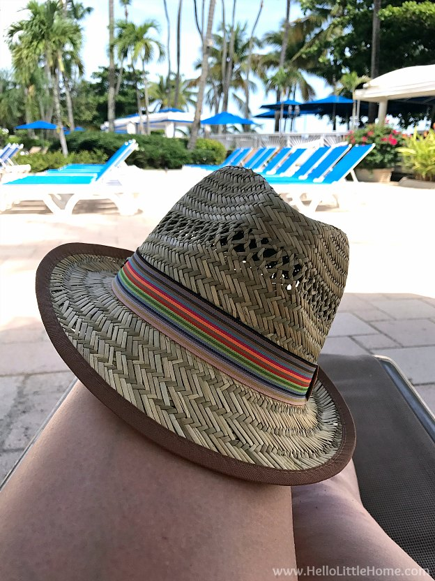 Where to Stay in San Juan, Puerto Rico! Relaxing poolside at the InterContinental San Juan. | Hello Little Home