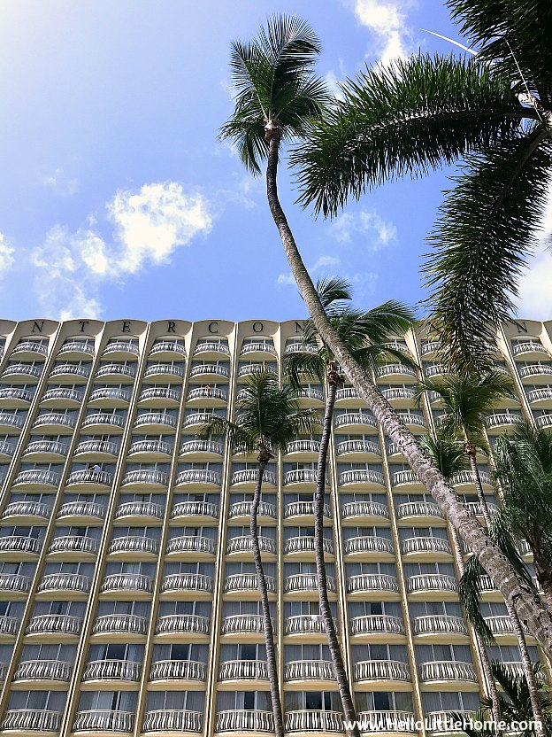 Where to Stay in San Juan, Puerto Rico! Exterior view of the InterContinental San Juan. | Hello Little Home