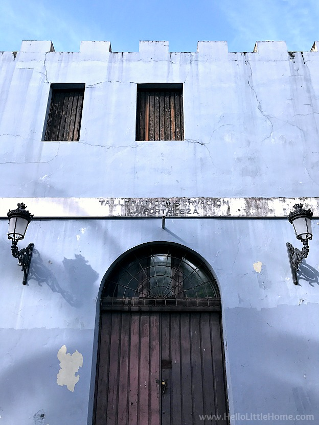 Colorful Building in Old San Juan | Hello Little Home
