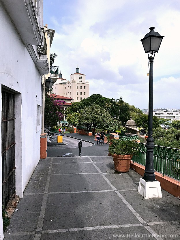 Beautiful street in Old San Juan | Hello Little Home