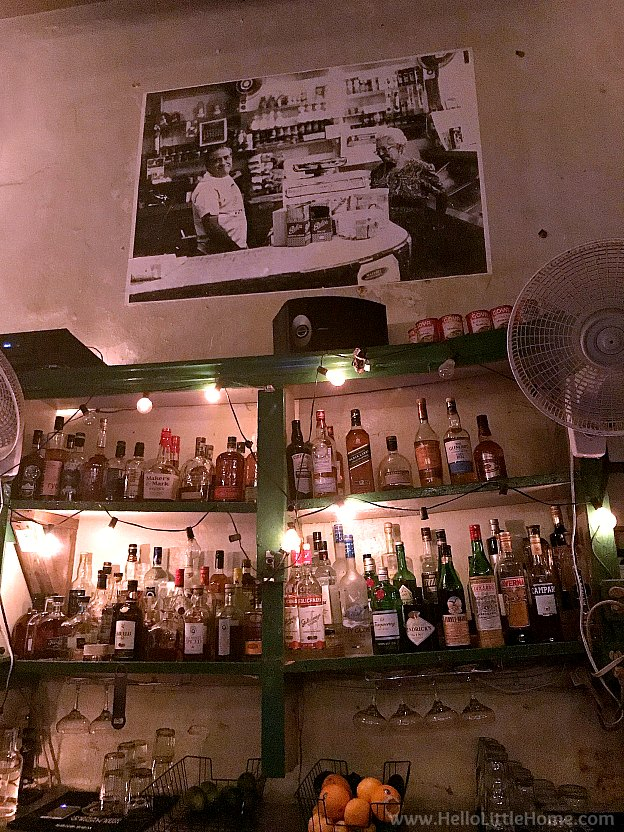 La Cubanita Bar in Old San Juan | Hello Little Home