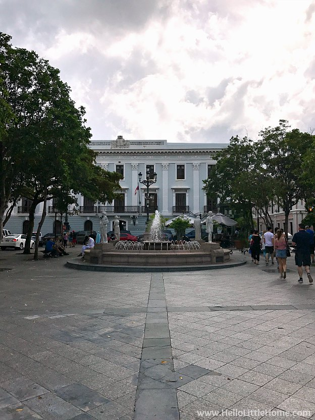 Plaza de Armas in Old San Juan | Hello Little Home