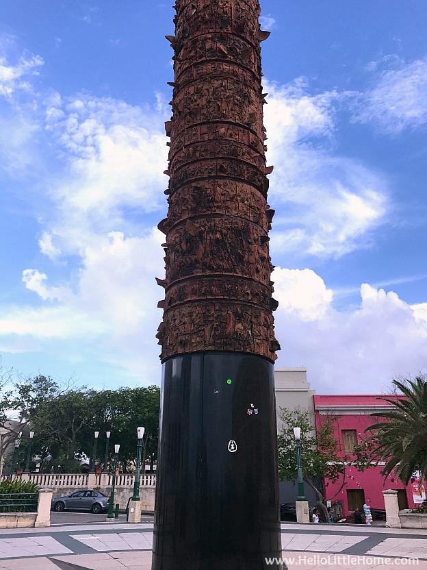 Plaza del Quinto Centenario in Old San Juan | Hello Little Home