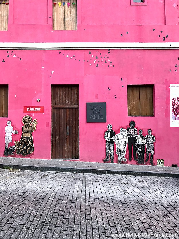 Street Art in Old San Juan | Hello Little Home