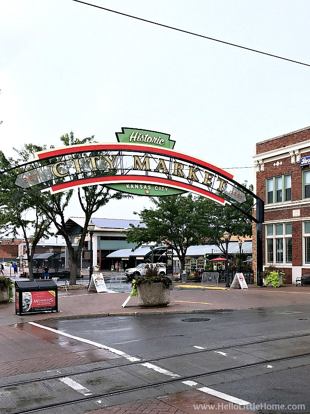 Entrance to City Market in Kansas City, Missouri