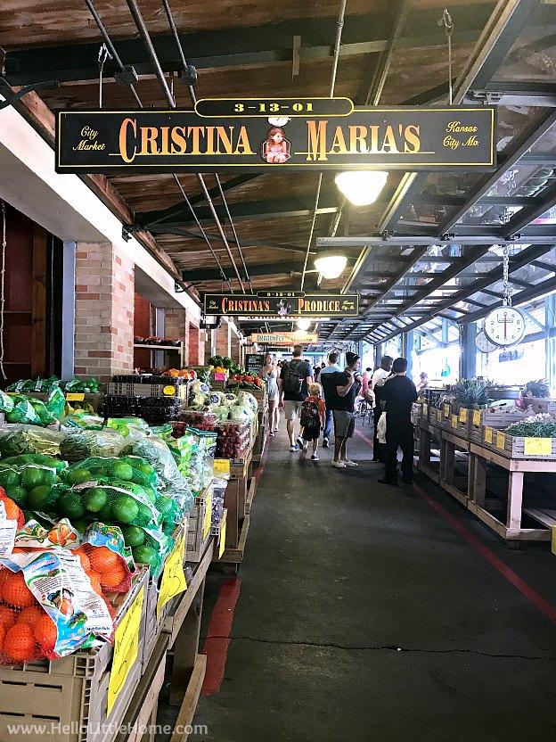 City Market in Kansas City, Missouri