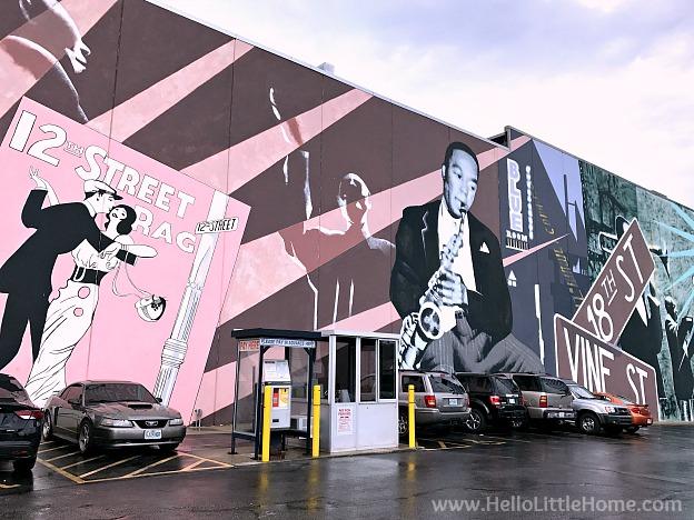 Mural in downtown Kansas City, Missour