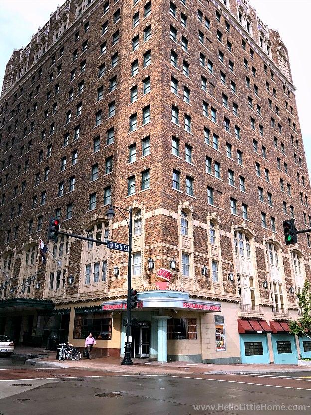 Vintage Building in downtown Kansas City, Missouri