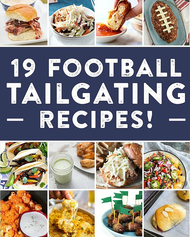 19 Football Tailgating Recipes from Your Favorite Food Bloggers | Hello Little Home