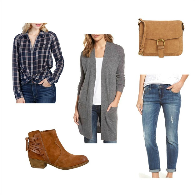 A fall outfit collage